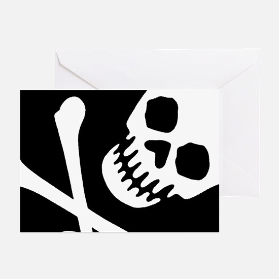 CROSSBONES Greeting Cards (Pk of 10)