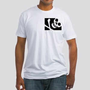 CROSSBONES Fitted T-Shirt