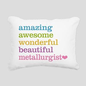 Awesome Metallurgist Rectangular Canvas Pillow