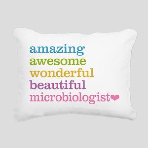 Microbiologist Rectangular Canvas Pillow