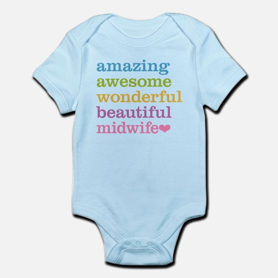 Awesome Midwife Body Suit