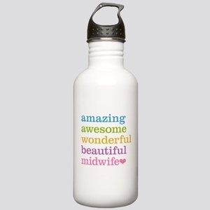 Awesome Midwife Stainless Water Bottle 1.0L