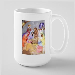 Christmas Nativity Large Mug