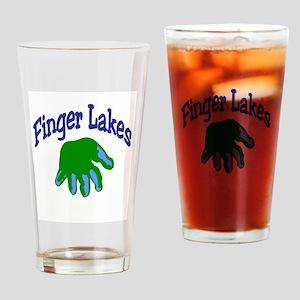Finger Lakes Drinking Glass