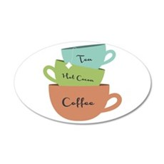 Hot Drinks Wall Decal