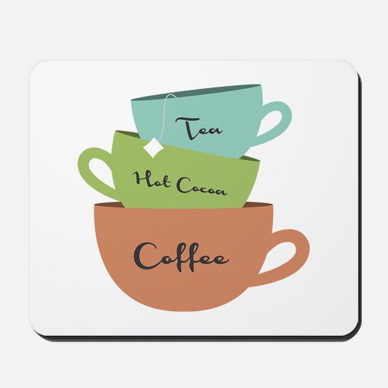 Hot Drinks Mousepad