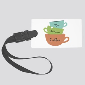 Hot Drinks Luggage Tag