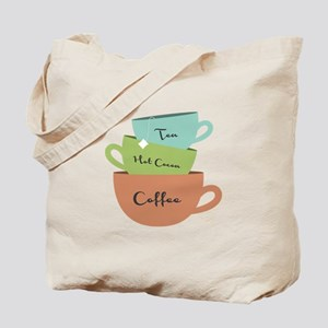 Hot Drinks Tote Bag