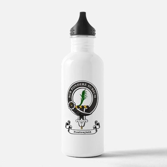 Badge-Porterfield Sports Water Bottle