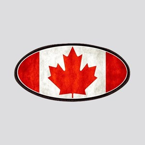 Vintage Canadian Flag Patches