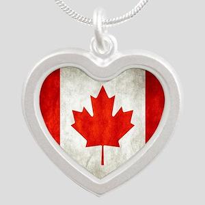 Vintage Canadian Flag Necklaces