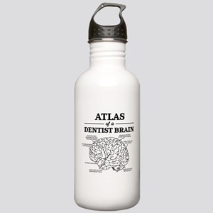 Atlas of a Dentist Bra Stainless Water Bottle 1.0L