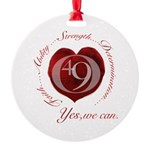 Yes We Can Ornament