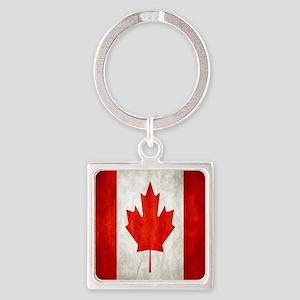 Vintage Canadian Flag Keychains