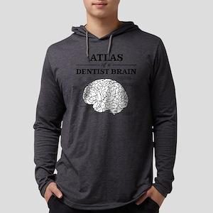 Atlas of a Dentist Brain Mens Hooded Shirt