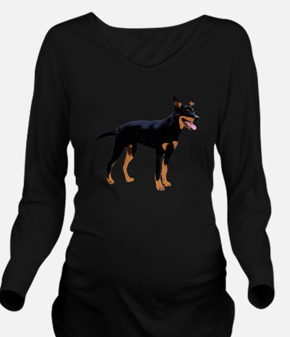 Australian Kelpie Long Sleeve Maternity T-Shirt