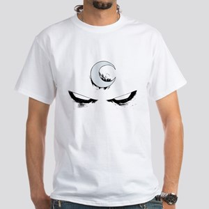 Moon Knight Face White T-Shirt