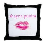 Shayna Punim Throw Pillow