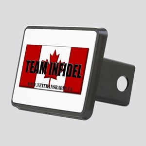 Team Infidel Flag Rectangular Hitch Cover