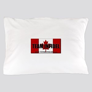 Team Infidel Flag Pillow Case