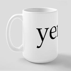 Yenta Large Mug