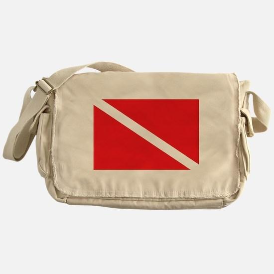 scuba32.png Messenger Bag