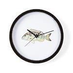 Pigfish Wall Clock