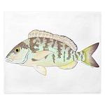 Pigfish King Duvet