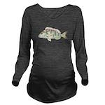 Pigfish Long Sleeve Maternity T-Shirt