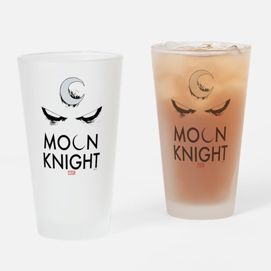Moon Knight Face Tall Drinking Glass