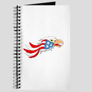 Eagle American Flag Journal