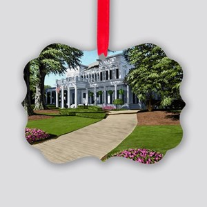 Alpha Gamma Delta -1-UGA Picture Ornament