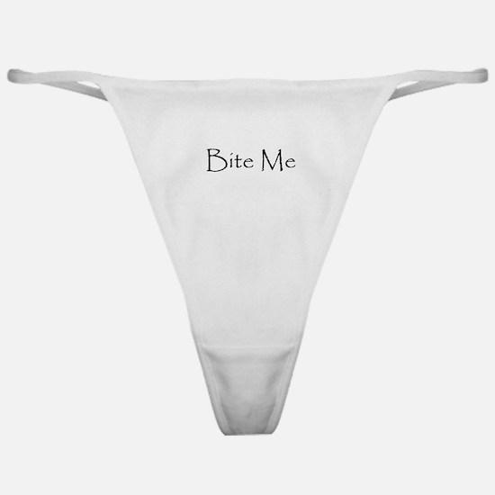 Bite Me Classic Thong
