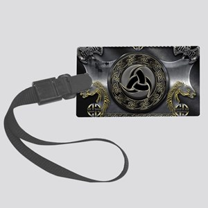 Odin's Horn Large Luggage Tag
