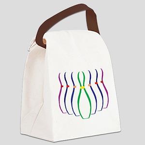 bowl1 Canvas Lunch Bag