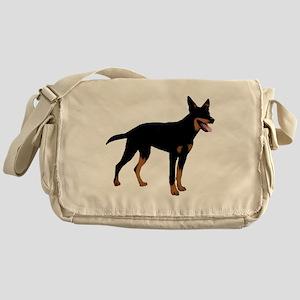 Australian Kelpie Messenger Bag