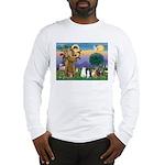 StFrancis-Lab & Sheltie Long Sleeve T-Shirt