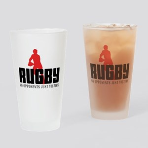 rugby11 Drinking Glass