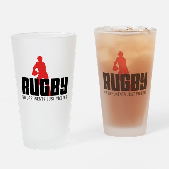 rugby11.png Drinking Glass