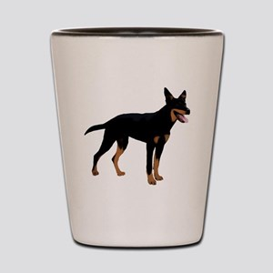 Australian Kelpie Shot Glass