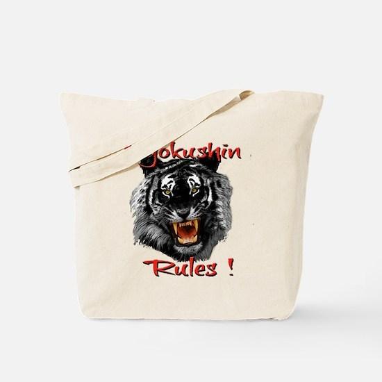 Kyokushin Black Tiger design Tote Bag