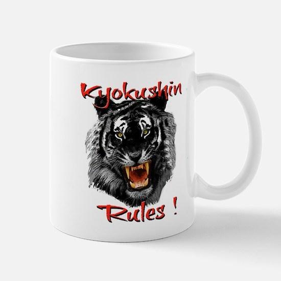 Kyokushin Black Tiger design Mugs