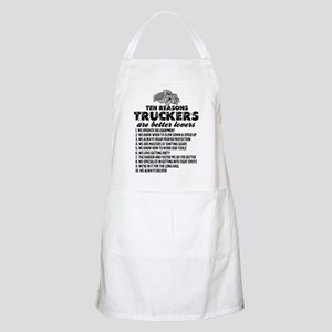 10 Reasons Truckers Better Lovers Apron