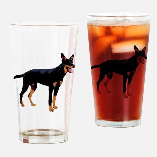 Australian Kelpie Drinking Glass