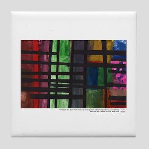 Mondrian Tile Coaster