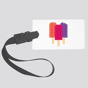Popsicles Luggage Tag