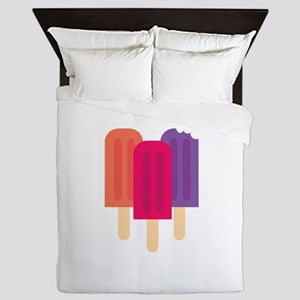 Popsicles Queen Duvet