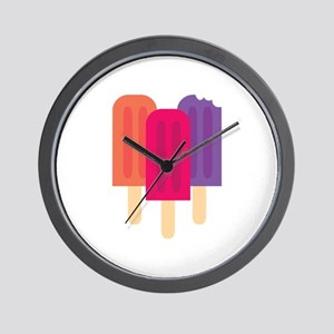 Popsicles Wall Clock