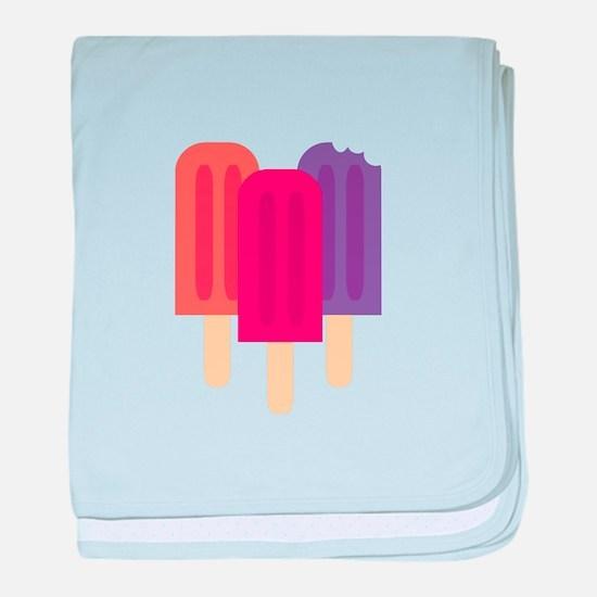 Popsicles baby blanket