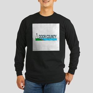 Door County Long Sleeve Dark T-Shirt